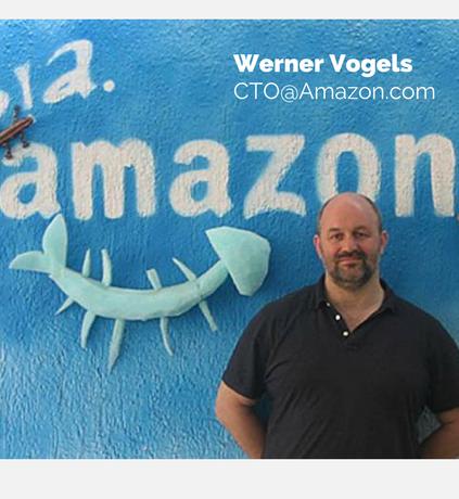 Werner Vogels CTO@Amazon.com - CTOs At Work